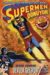 Caratula, cartel, poster o portada de El retorno de Superman (Turkish Superman)