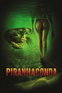 Caratula, cartel, poster o portada de Pirañaconda