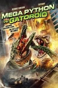 Caratula, cartel, poster o portada de Mega Pitón contra Mega Caimán