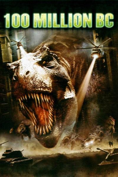 Caratula, cartel, poster o portada de Regreso a la tierra de los dinosaurios (100 Million BC)