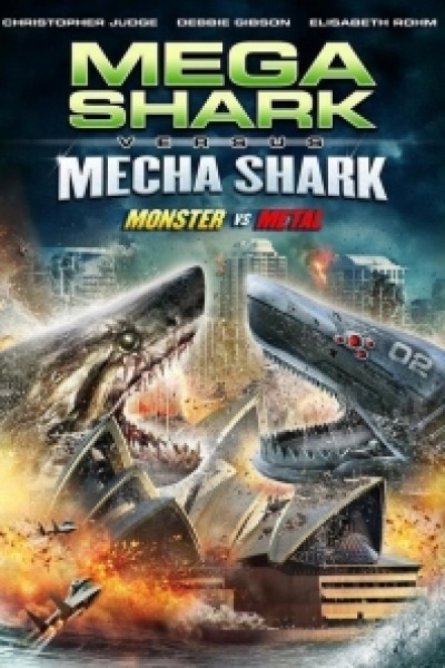 Caratula, cartel, poster o portada de Mega Shark Vs. Mecha Shark