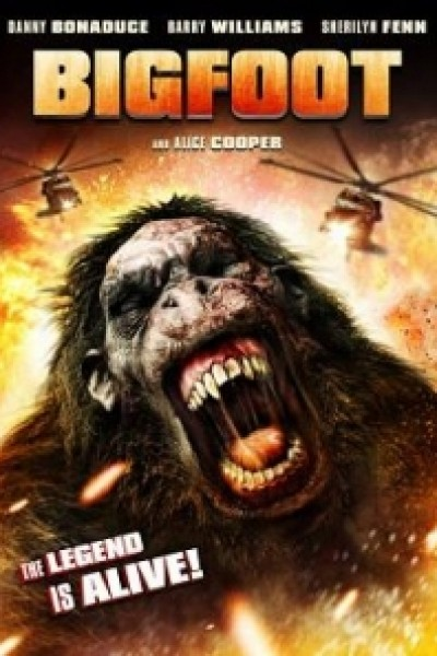 Caratula, cartel, poster o portada de Bigfoot