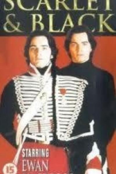 Caratula, cartel, poster o portada de The Scarlet and the Black