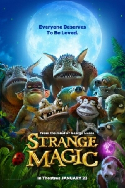 Caratula, cartel, poster o portada de Marianne y la pócima del amor (Strange Magic)
