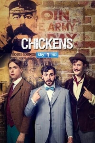 Caratula, cartel, poster o portada de Chickens