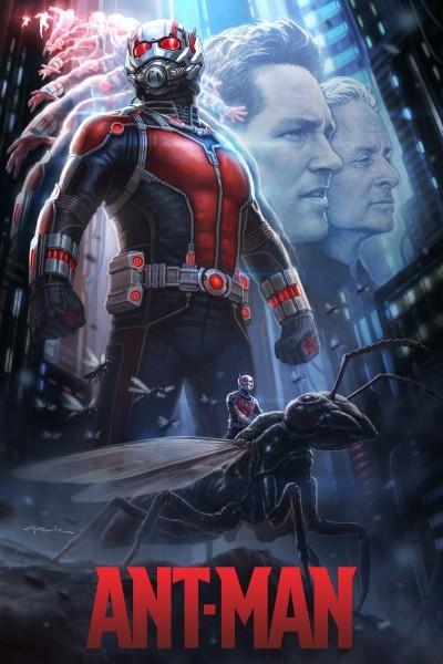 Caratula, cartel, poster o portada de Ant-Man