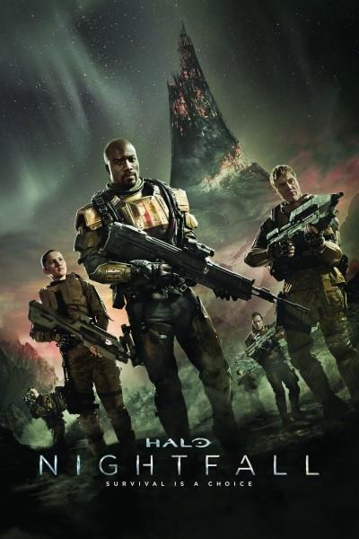 Caratula, cartel, poster o portada de Halo: Nightfall
