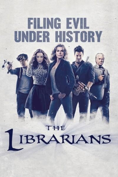 Caratula, cartel, poster o portada de The Librarians, la biblioteca del misterio