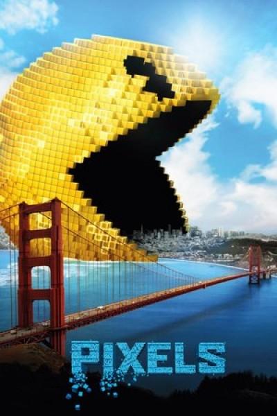 Caratula, cartel, poster o portada de Pixels
