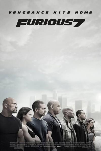 Caratula, cartel, poster o portada de Fast & Furious 7 (A todo gas 7)