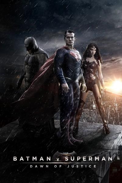 Caratula, cartel, poster o portada de Batman v. Superman: El amanecer de la Justicia