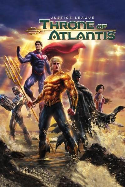 Caratula, cartel, poster o portada de La liga de la justicia: El trono de Atlantis