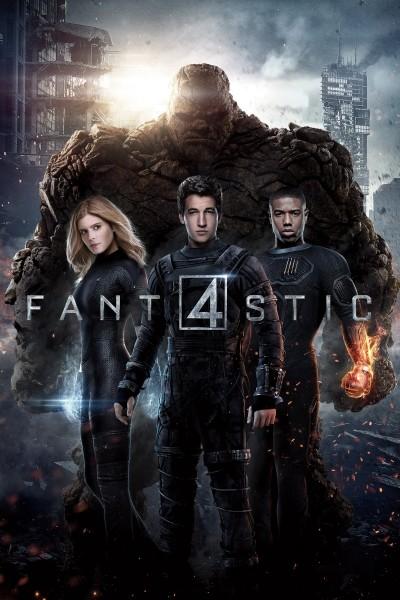 Caratula, cartel, poster o portada de Cuatro Fantásticos