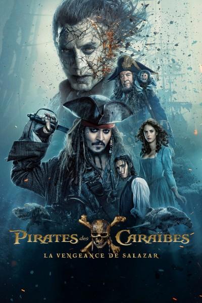 Caratula, cartel, poster o portada de Piratas del Caribe: La venganza de Salazar