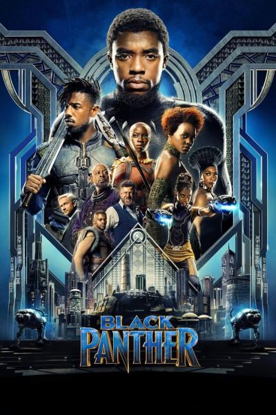 Caratula, cartel, poster o portada de Black Panther