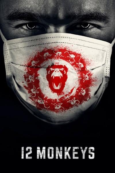 Caratula, cartel, poster o portada de 12 monos (Doce monos)