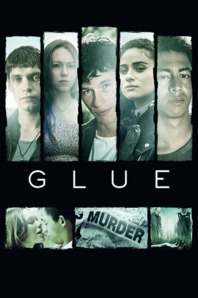 Caratula, cartel, poster o portada de Glue