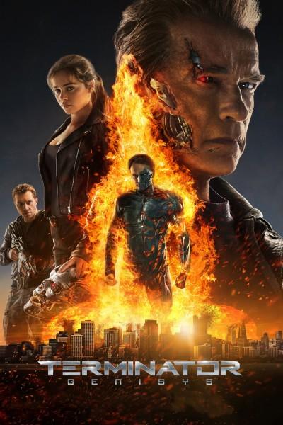 Caratula, cartel, poster o portada de Terminator Génesis