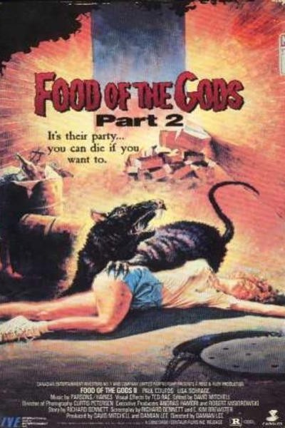 Caratula, cartel, poster o portada de El alimento de los dioses II