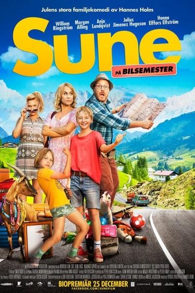 Caratula, cartel, poster o portada de Los Andersson Road Movie