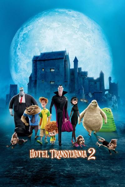 Caratula, cartel, poster o portada de Hotel Transilvania 2