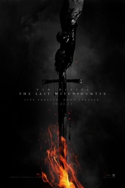 Caratula, cartel, poster o portada de El último cazador de brujas