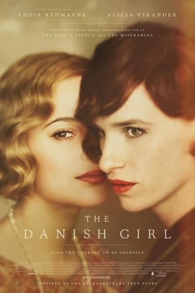 Caratula, cartel, poster o portada de La chica danesa