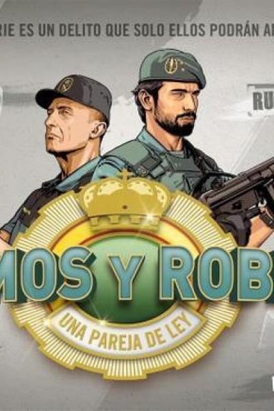 Caratula, cartel, poster o portada de Olmos y Robles, una pareja de ley