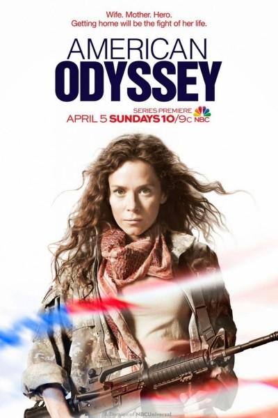 Caratula, cartel, poster o portada de American Odyssey
