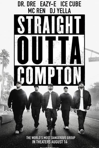 Caratula, cartel, poster o portada de Straight Outta Compton