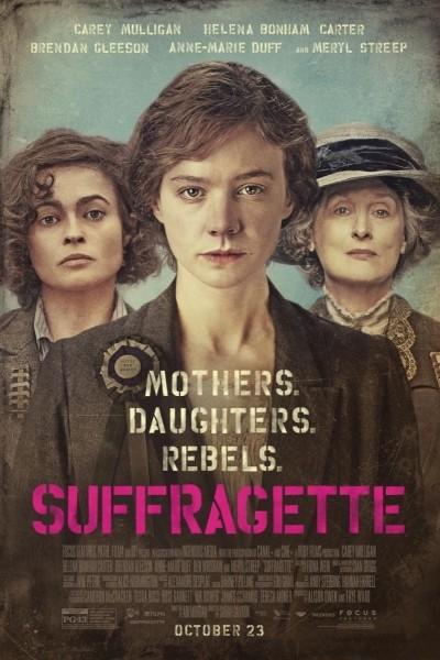 Caratula, cartel, poster o portada de Sufragistas