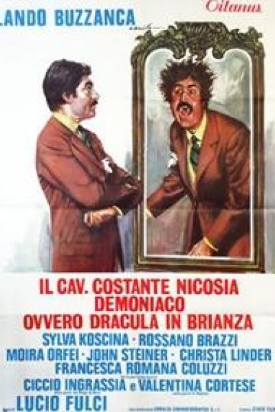 Caratula, cartel, poster o portada de Las pícaras aventuras de Drácula