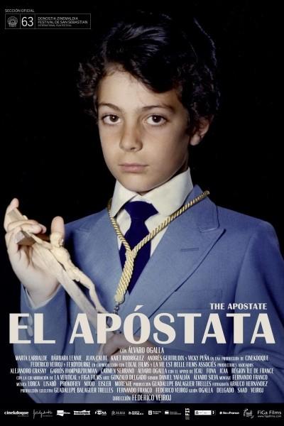Caratula, cartel, poster o portada de El apóstata