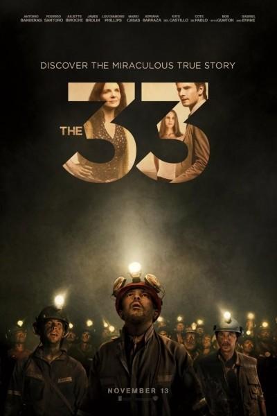 Caratula, cartel, poster o portada de Los 33: una historia de esperanza