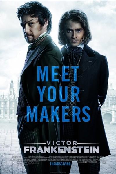 Caratula, cartel, poster o portada de Victor Frankenstein