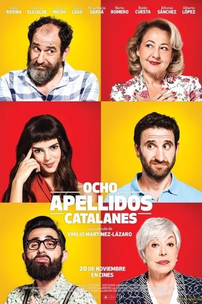 Caratula, cartel, poster o portada de Ocho apellidos catalanes
