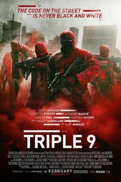Caratula, cartel, poster o portada de Triple 9