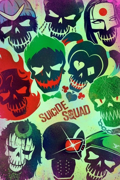 Caratula, cartel, poster o portada de Escuadrón suicida