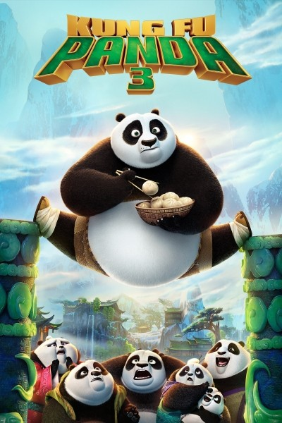 Caratula, cartel, poster o portada de Kung Fu Panda 3