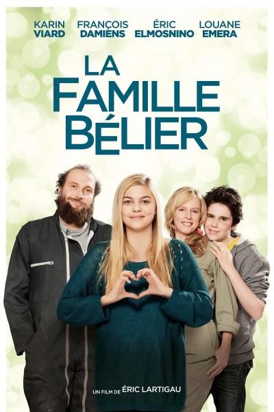 Caratula, cartel, poster o portada de La familia Bélier