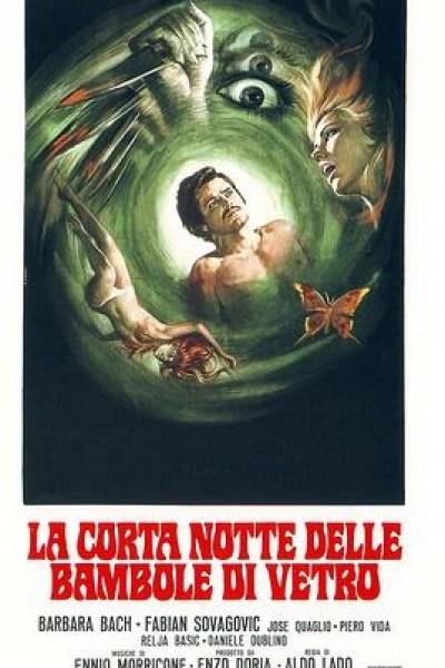 Caratula, cartel, poster o portada de La corta noche de las muñecas de cristal