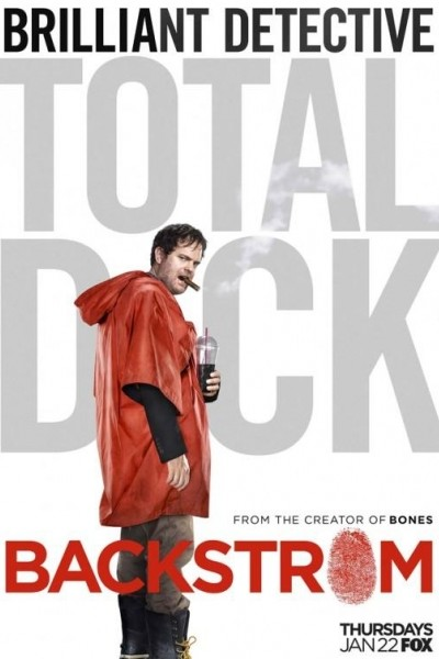 Caratula, cartel, poster o portada de Backstrom