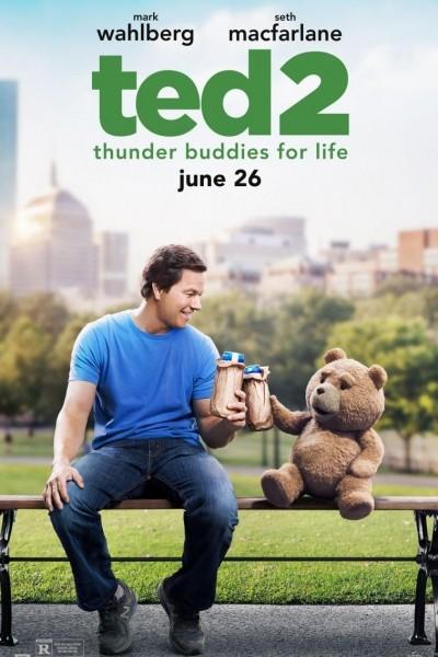 Caratula, cartel, poster o portada de Ted 2