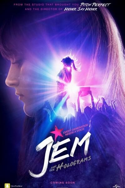 Caratula, cartel, poster o portada de Jem y los hologramas