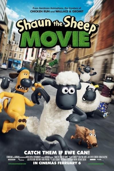 Caratula, cartel, poster o portada de La oveja Shaun: La película