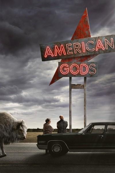 Caratula, cartel, poster o portada de American Gods