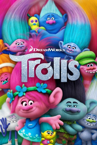 Caratula, cartel, poster o portada de Trolls