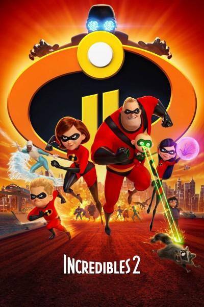 Caratula, cartel, poster o portada de Los Increíbles 2