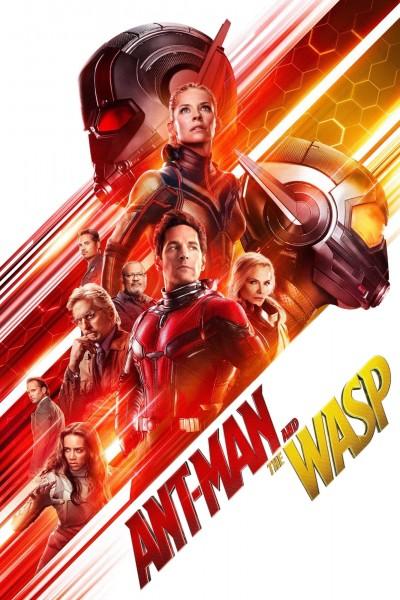 Caratula, cartel, poster o portada de Ant-Man y la Avispa
