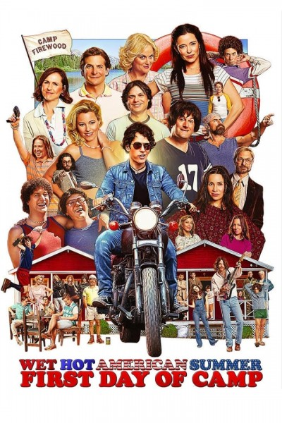 Caratula, cartel, poster o portada de Wet Hot American Summer: First Day of Camp